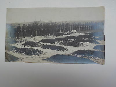 WWI Photo Funeral 162nd Infantry Winchester England Photograph WW I VTG Old WW1