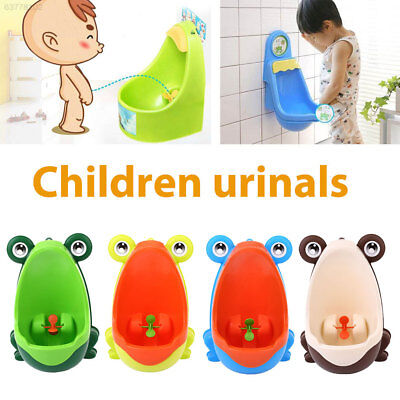 64C0 Lovely Frog Children Pee Potty Training Urinal Early Learning Trainer Bathr