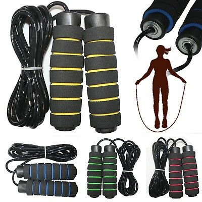 Aerobic Exercise Fitness Boxing Jump Skipping Rope Adjustable Bearing Speed