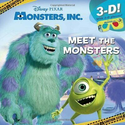 MONSTERS, INC  BOOK The Fast Free Shipping - $7 75 | PicClick