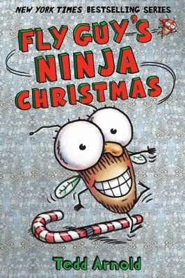 Fly Guy's Ninja Christmas, Hardcover by Arnold, Tedd, Brand New, Free shippin...