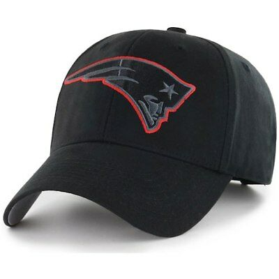 Fan Favorite New England Patriots Black Basic Adjustable Hat