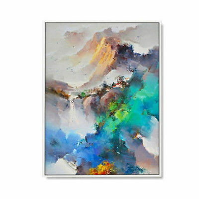 Scenery Hand-Painted Abstract Oil Painting Home Decor Art Wall On Canvas 24x36''
