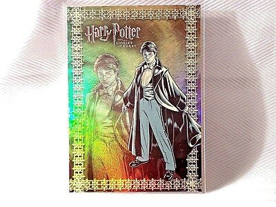 Harry Potter GOF -  Prismatic FOIL Chase Puzzle Card - R3 - NEW