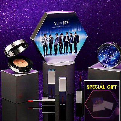 BTS VT Cosmetics The Sweet Special Edition New Limited Makeup Set Special Gift