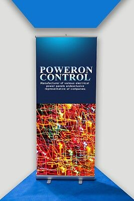 Roller Pop/Pull Banner with Printed Artwork Banner Material