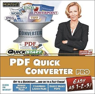 QuickStart PDF Quick Converter Pro PC Windows Not Sealed Never Used