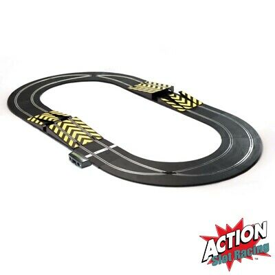 Scalextric Sport 1:32 Track Set Layout - Oval With Pair Of Ramps #A