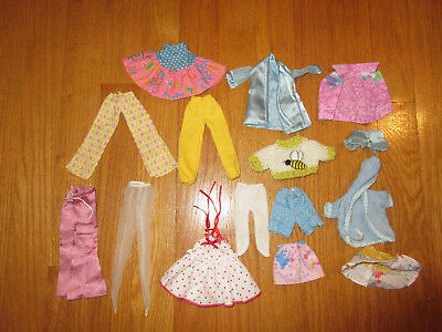 Vintage Mixed lot of Barbie and friends Clothing
