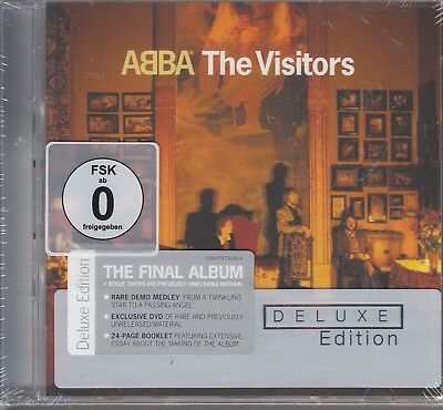 Abba / The Visitors - Deluxe Edition -  CD & DVD (NEU! OVP)
