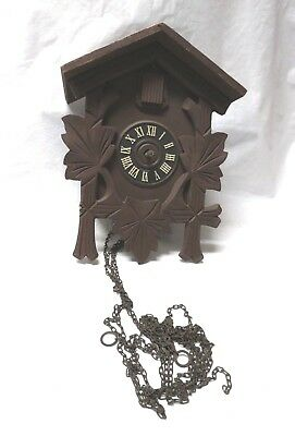 Vintage German Cuckoo Clock Regula Movement ~ For Parts or Repair Only