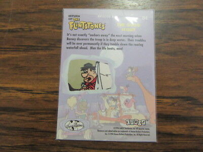 Return of the Flintstones, The Good Scout Trading Card, 1994