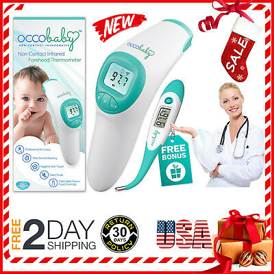 Forehead Thermometer Digital Baby For Kids Fever Health Medical Body Temperature