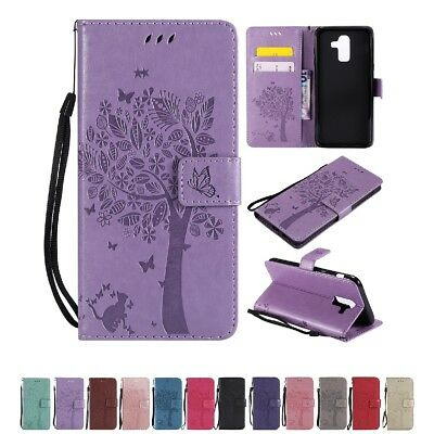 Cute Leather Wallet Stand Case Cover For Samsung Galaxy J3,J7,J7 DUO,J8 (2018)