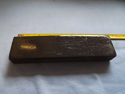 Vintage Sharpening Oil Stone Natural Black Hone