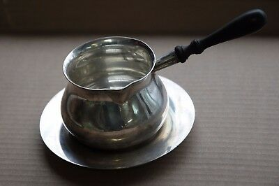Kappyscoins Shreve Crump & Low Sterling Silver Gravy Sauce Boat And Tray