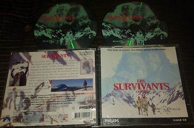 Les Survivants Tres Rare Film En Double Cdi Interactif Video Cd