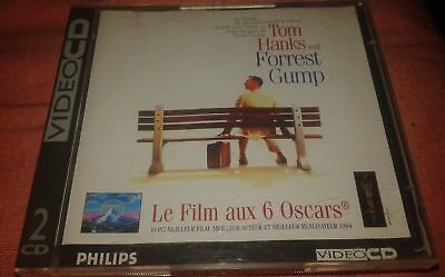 Forrest Gump Tres Rare Film En Double Cdi Interactif Video Cd