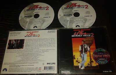 Le Flic De Beverly Hills Ii 2 Tres Rare Film En Double Cdi Interactif Video Cd