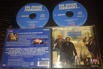 Une Epoque Formidable Tres Rare Film En Double Cdi Interactif Video Cd