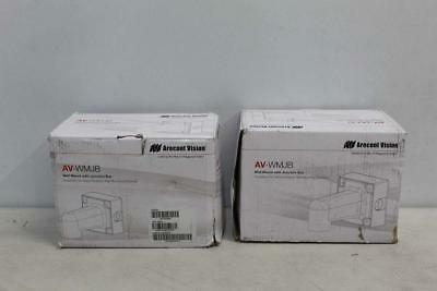 Lot Of 2 Arecont Vision Wall Mount With Junction Box AV-WMJB