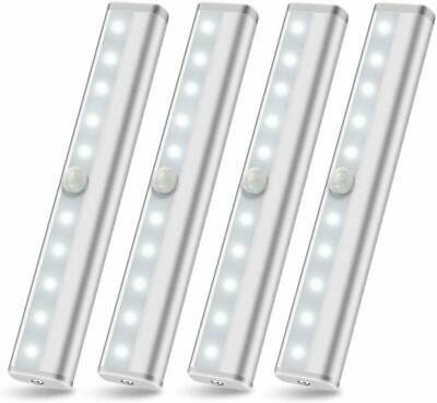 3 Pack Motion Sensor Closet Light LED Battery Operated Under Cabinet Wireless