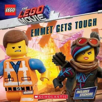 Emmet Gets Tough (the Lego Movie 2: Storybook With Stickers) by Scholastic (Engl