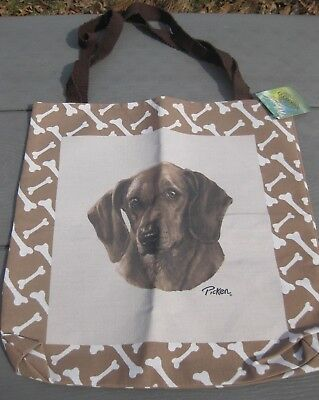 Dachshund Dog Dogs Dachshunds Tapestry Tote Bag Totebag NEW Linda Pickens Cute!