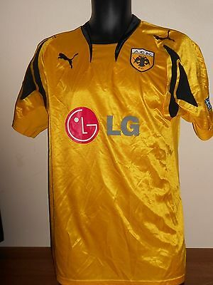 AEK Athens Home Shirt (2007/2008) medium men's #706