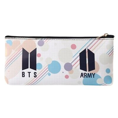 KPOP BTS Pencil Case Bangtan Boys Pen Bag School Stationery Gifts for Kids JIMIN