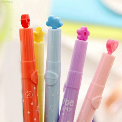 72D9 Plastic Stationery Marking Marker Painting Stamp Magic Creative