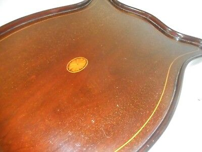 Antique inlaid Mahogany  Tray    ref  4151