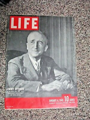 January 4 1943 Life Magazine Wwii New Guinea  Battle Of Stalingrad Washington Dc