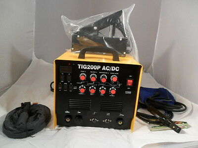 AC DC TIG WELDER  ALI STEEL Tig 200 P WITH PULSE 2 YEAR  WARRANTY  one only £399