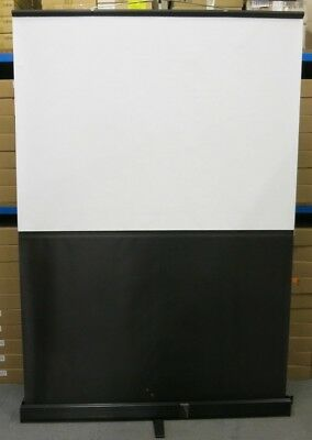 """Free Standing Floor Rising Portable Pull Up Projection Screen 75"""" 1900mm 190cm"""