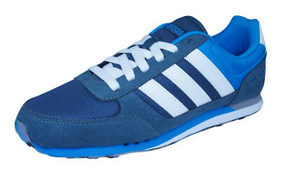 ADIDAS NEO CITY Racer Mens Running Sneakers Sports Shoes