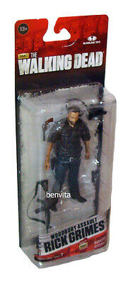 The Walking Dead S. 7.5 - Woodbury Assault Rick Grimes 12cm Figur McFarlane 13+