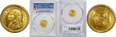 1903 La. Purchase - Jefferson $1 Gold Commemorative PCGS MS-66