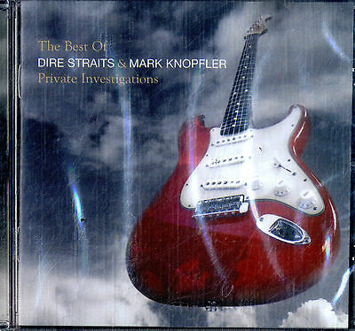 DIRE STRAITS & MARK KNOPFLER Private Investigations - The Best Of CD NEW SEALED