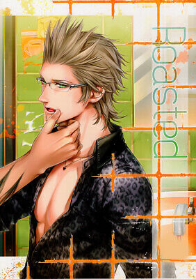 Final Fantasy 15 XV Doujinshi Comic Gladiolus / Gladio x Ignis Roasted