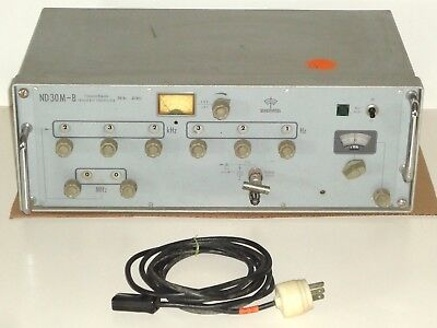 SCHOMANDL ND 30M-B Frequency Synthesizer ~ 300Hz - 30 MHz ~ PARTS or RESTORATION