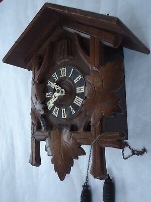 Vintage Cuckoo Clock. Spaces Or Repair