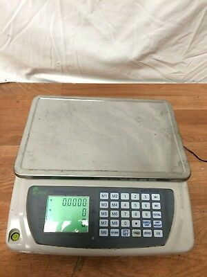DIGITAL COUNTING SCALE with Power Adapter 33 LB CAPACITY WORKING FREE SHIPPING