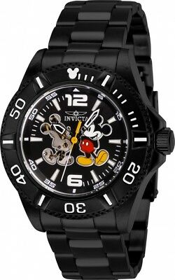 Invicta Disney Limited Mickey Mouse Edition Automatic Black Dial Men's Watch