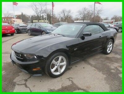 2010 Ford Mustang GT Premium 2010 GT Premium Used 4.6L V8 24V Manual RWD Convertible clean clear title carfax