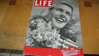 1946  Life Magazine  July 8   Basque Shirt  High Grade Lowest Price On Ebay