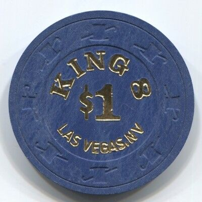 $1 Las Vegas King 8 Casino Chip