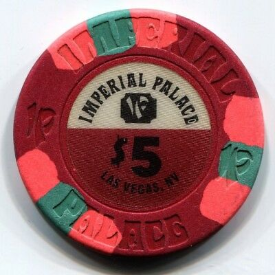 $5 Las Vegas Imperial Palace Casino Chip