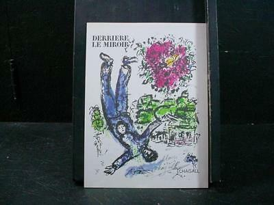 NobleSpirit NO RESERVE {3970}Vintage Art Print Signed by Marc Chagall