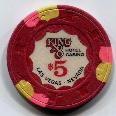 $5 Las Vegas King 8 Casino Chip